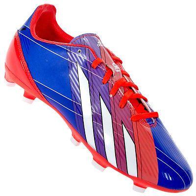 Adidas F10 Trx Fg Zapatos De Futbol, Blau/Rot, 43 1/3
