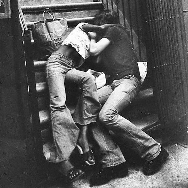 Friday night ❤️ #leonlevinstein #1970 #newyork Ph: @brownstonecowboys