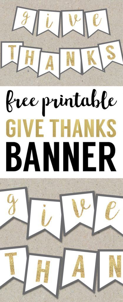 image regarding Printable Thanksgiving Banner identify Thanksgiving Banner Cost-free Printable Thanksgiving Crafts and