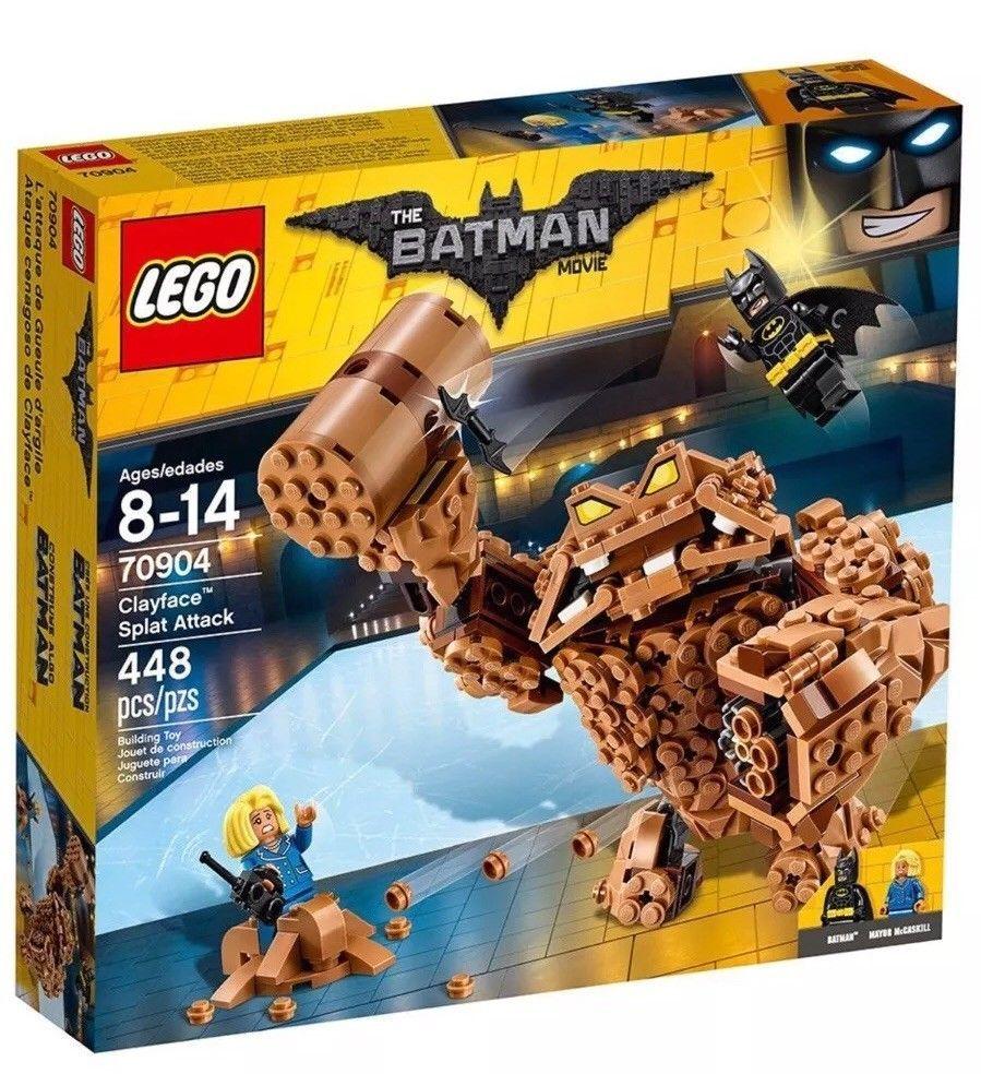 Lego 70904 The Batman Movie Clayface Splat Attack 448 pcs