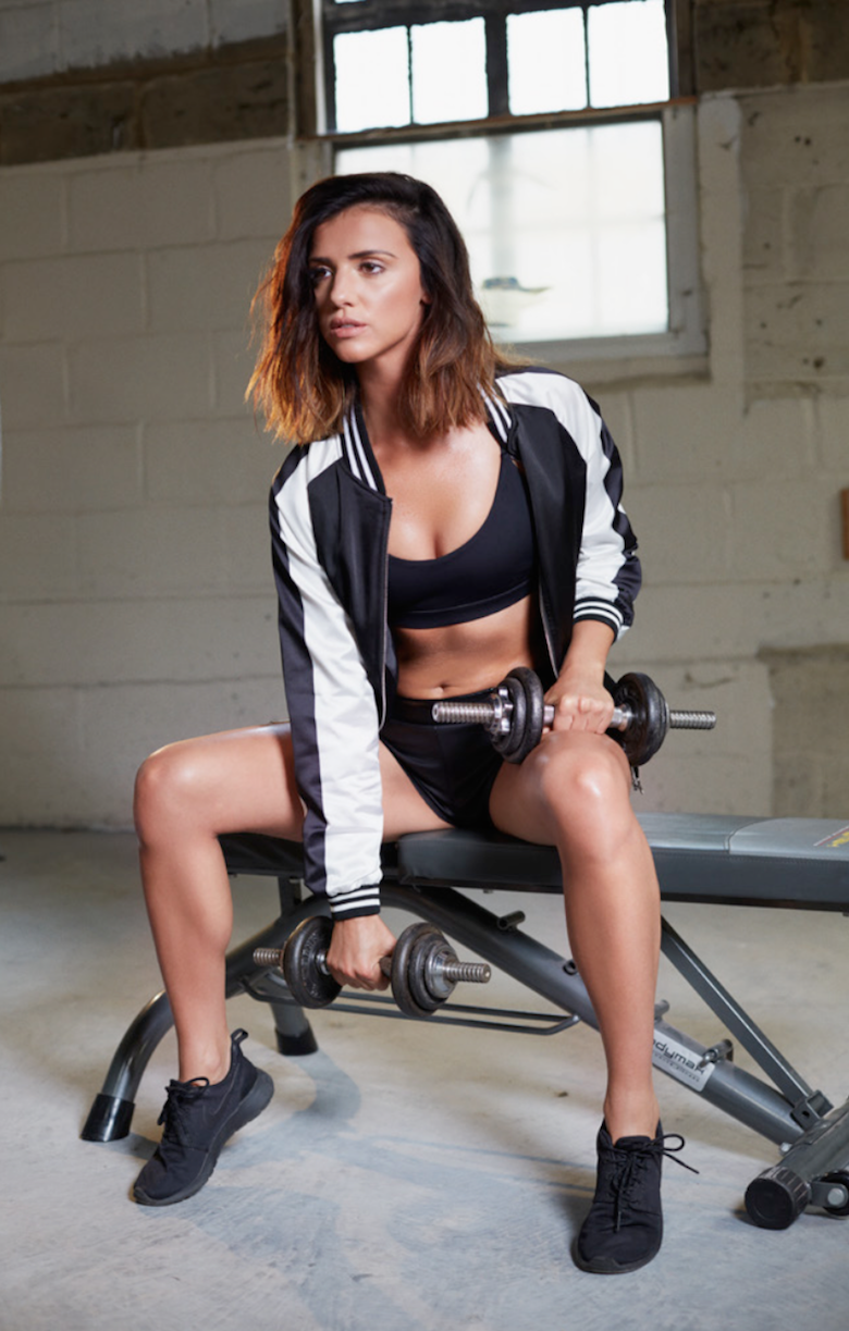 Lucy mecklenburgh is sweaty and beautiful