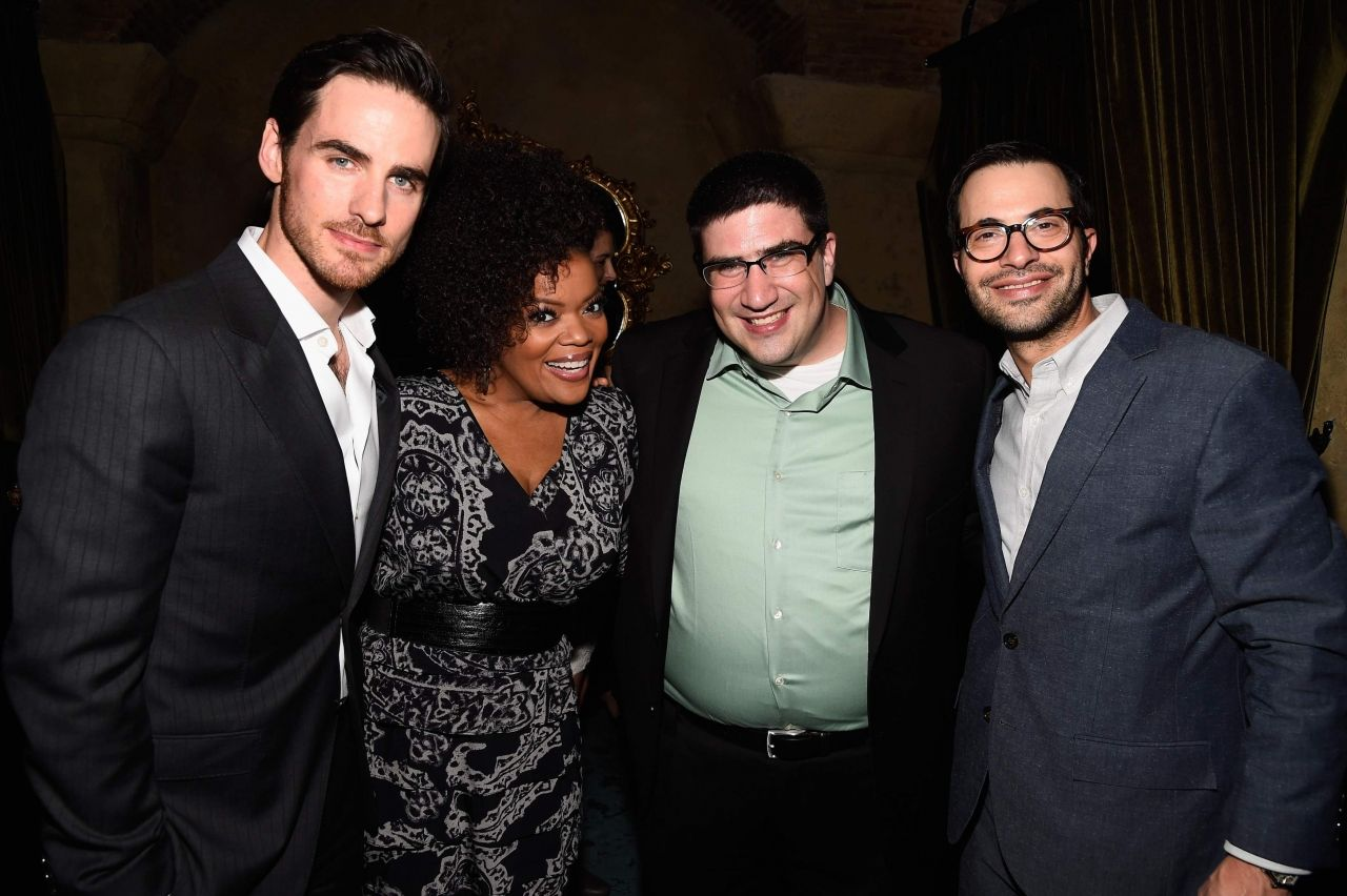 Colin O'Donoghue and Yvette Nicole Brown with exec ...