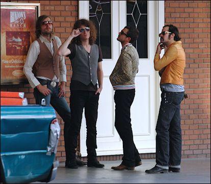 The Killers #TheKillers #Mark #Dave #Brandon #Ronnie
