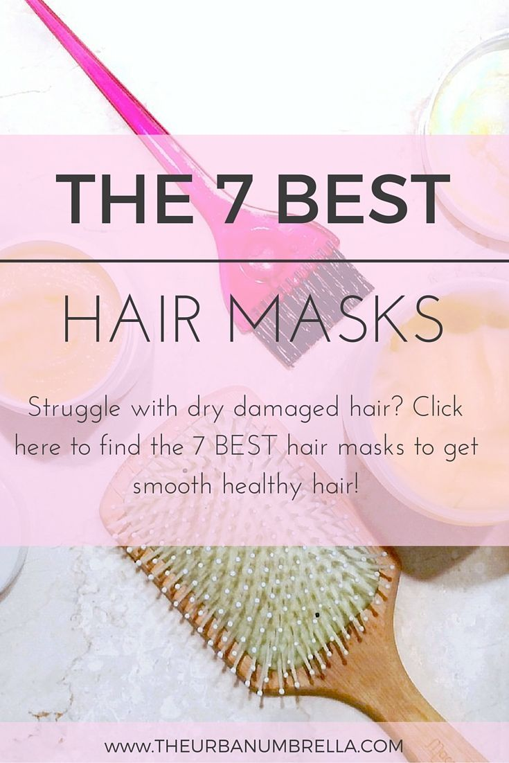 7 Best Hair Masks for Damaged Hair Struggle with dry damaged hair? I did, too – that is until I made some hair care changes and discovered these 7 INCREDIBLE hair masks! Click here to find the 7 BEST hair masks to get smooth healthy hair!  (PSSST – Don't forget to repin this image for later on!)Struggle with dry damaged hair? I did, too – that is until I m...