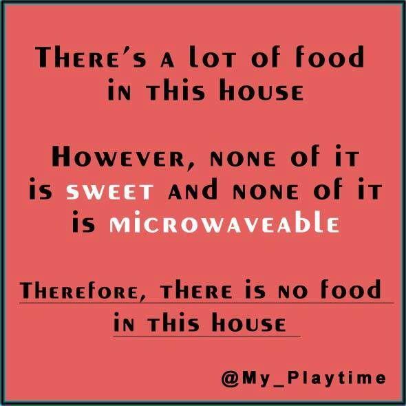 I'm starving!!