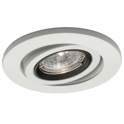 Buy The 4 Inch Premium Low Voltage Round Gimbal Ring Trim 25 Degree Adjustment From Vertical Hr D417 Recessed Lighting Trim Recessed Lighting Wac Lighting
