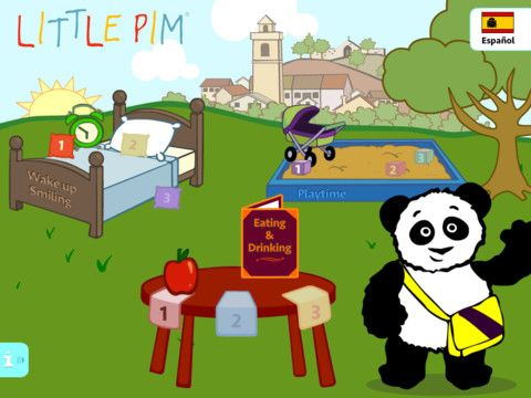 Little Pim Spanish App Fun way for kids to play with