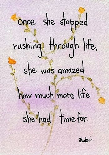 rushing quote