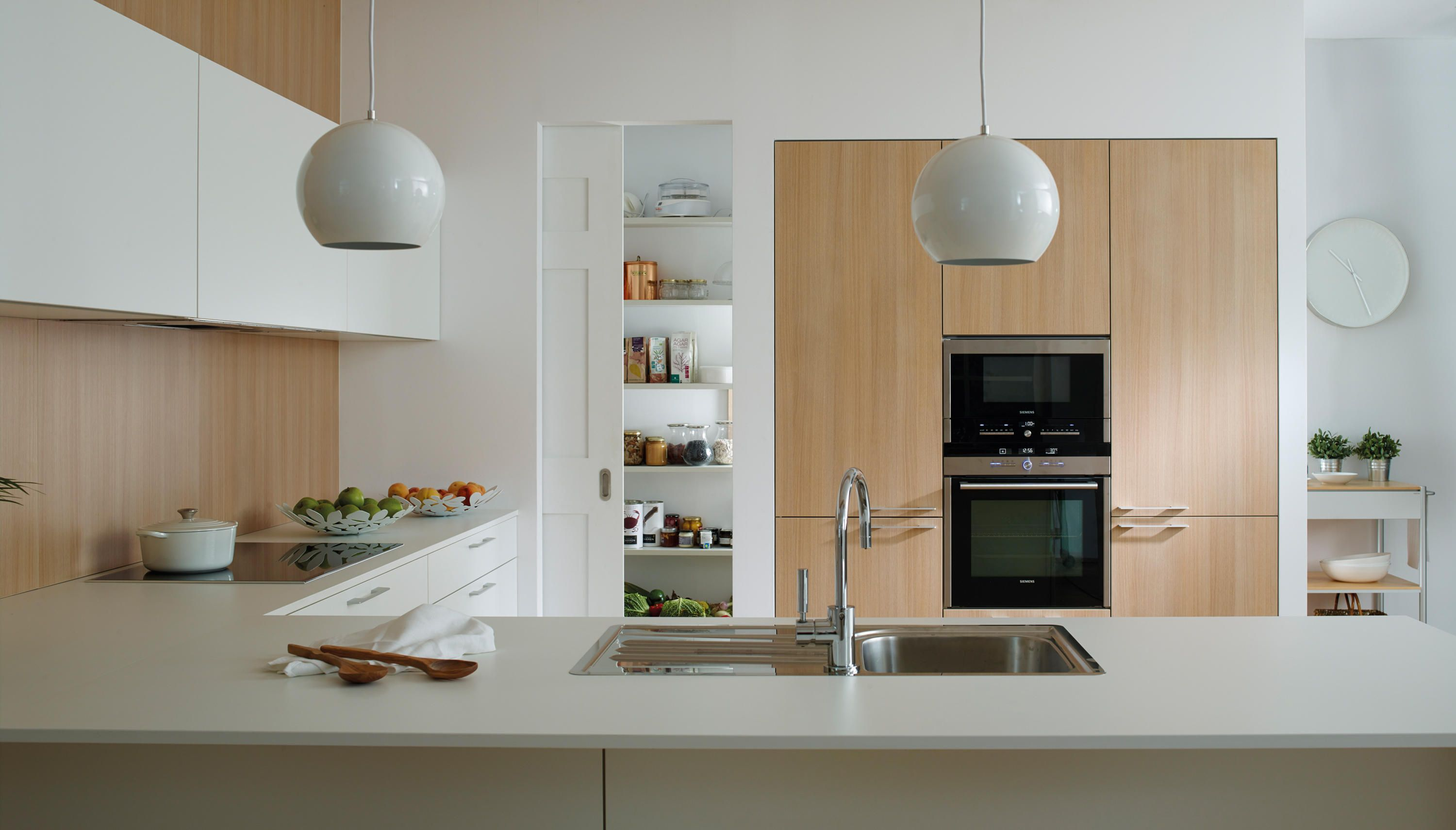 Ariane 2 Tall Units Designer Fitted Kitchens From Santos All