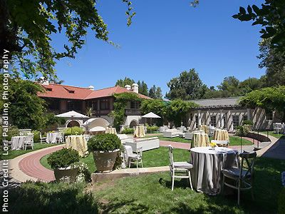 Montalvo Arts Center Saratoga Wedding Venues Reception 95071