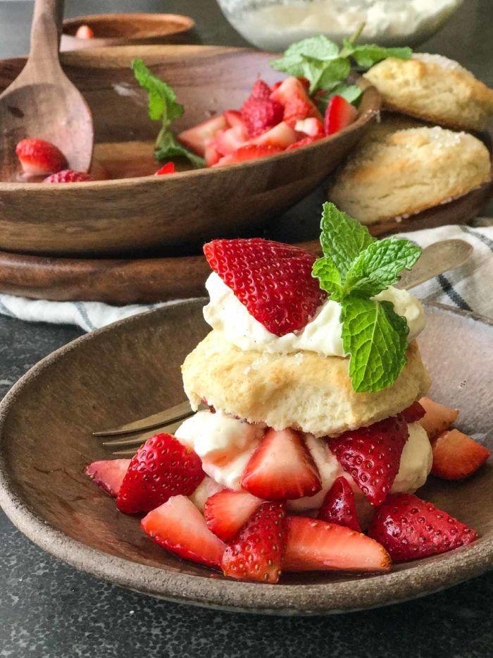 Homemade Strawberry Shortcakes   Lovely Little Kitchen
