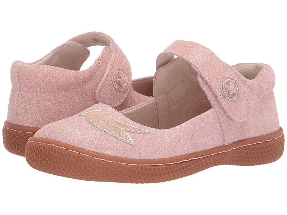 Startrite Swing 2 Girls Infant Leather Mary Jane Rip Tape Shoes