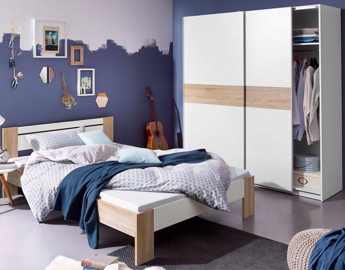SchlafzimmerSet, in 2 Ausführungen, Set aus Schrank, Bett