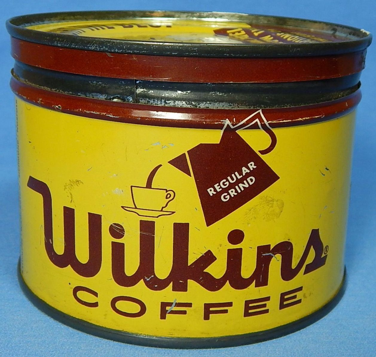 Wilkins Coffee Coffee tin, Vintage coffee, Vintage tins