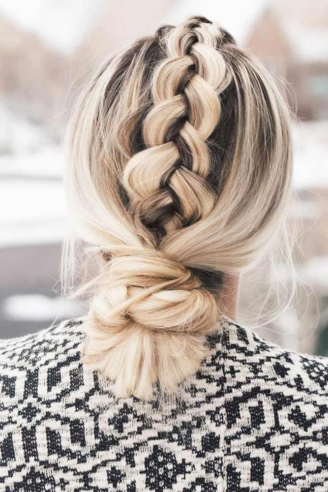 60 Updos For Medium Length Hair   Braided hairstyles updo ...