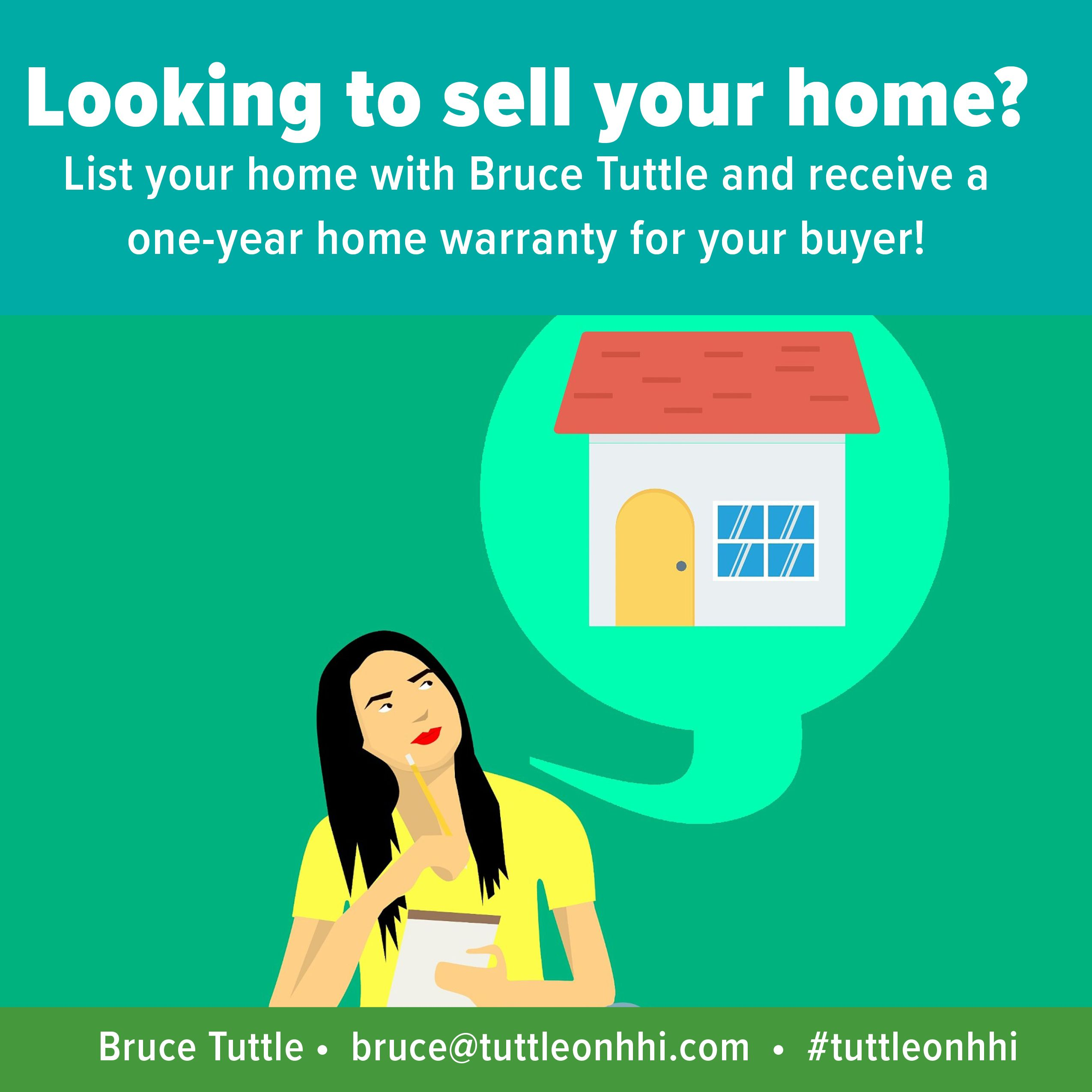 List your home with Bruce Tuttle today and receive a free ...