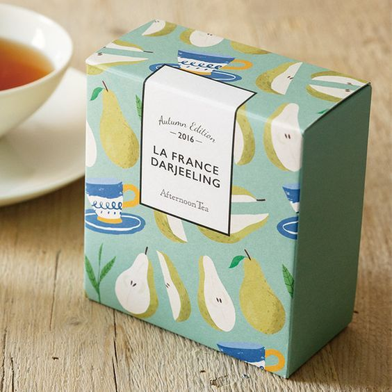 Illustrative packaging design #illustrative #packaging #packagingdesign #modern #graphicdesign #design #teapackaging