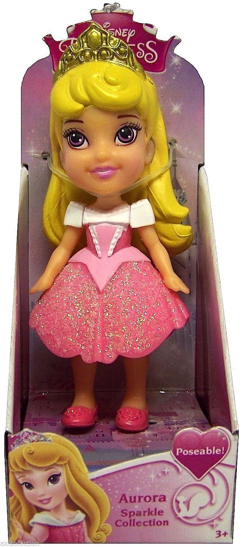 Amazon Com Disney Princess Poseable Aurora Sparkle