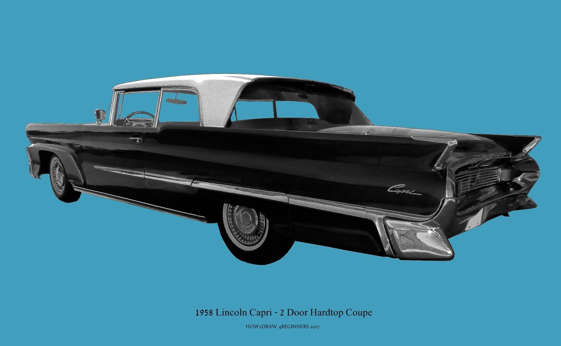 1958 Lincoln Premiere 2 Door Hardtop Coupe Sports