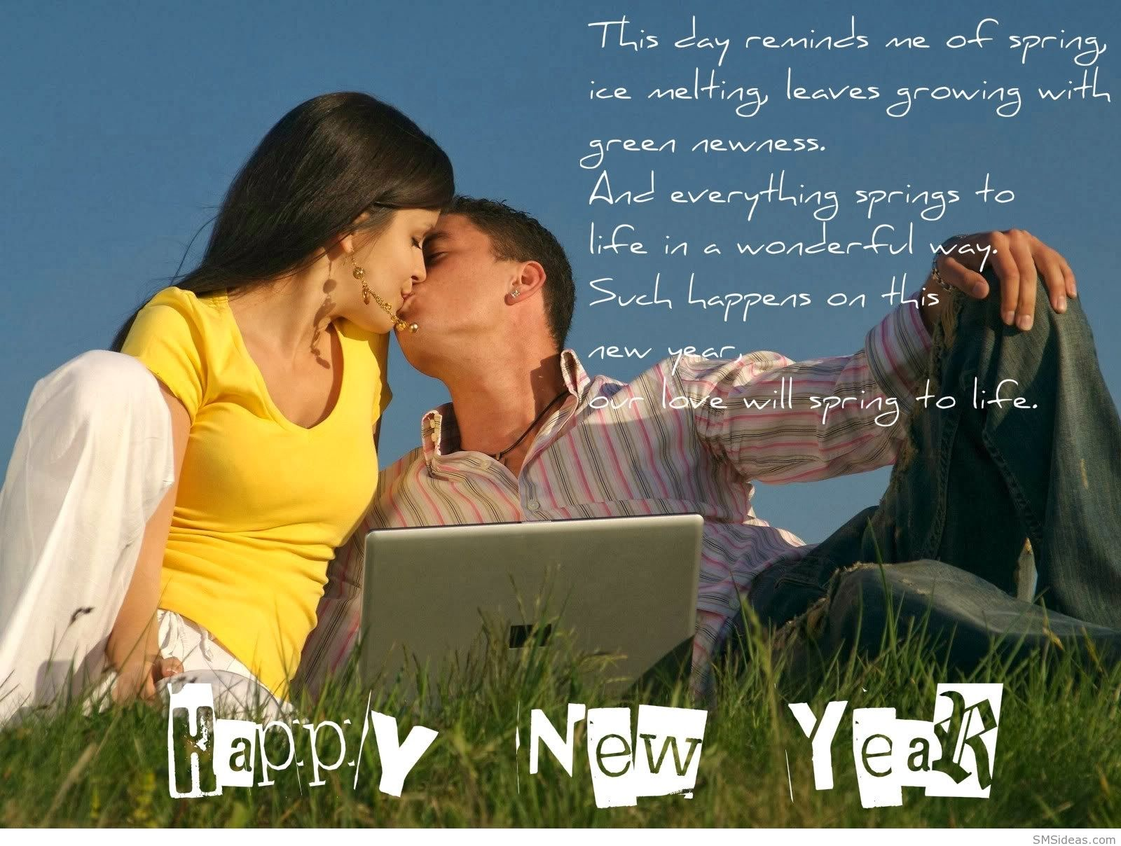Happy New Year Sms Love Happy New Year Pinterest