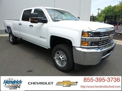 2016 Chevrolet Silverado 2500 2wd Crew Cab 167 7 Work Truck For