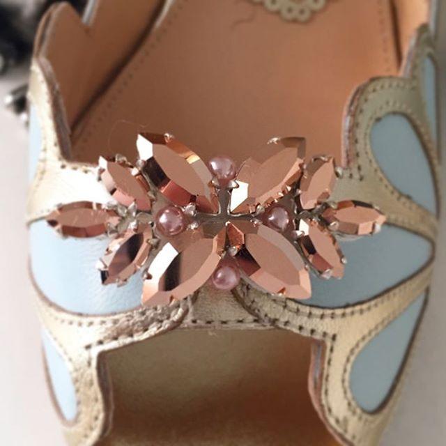 bcc5e3518fa7 Rose gold shoe clip