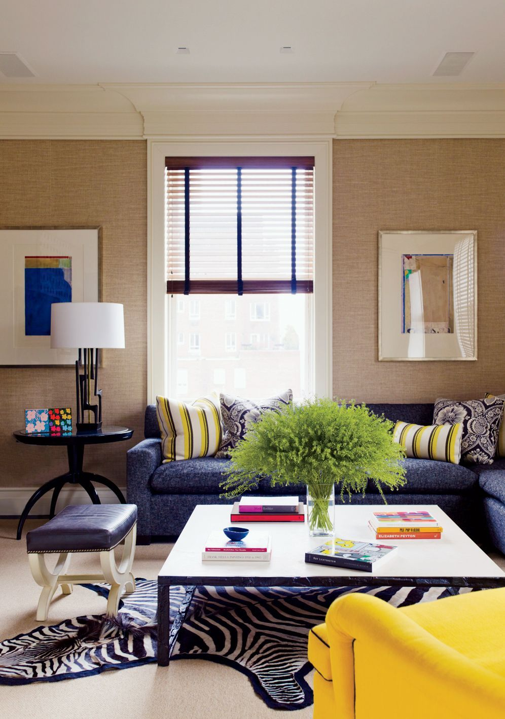 david kleinberg designs a warm and modern manhattan apartment manhattan designers Contemporary Living Room by David Kleinberg Design Associates and David  Kleinberg Design Associates in New York, New York