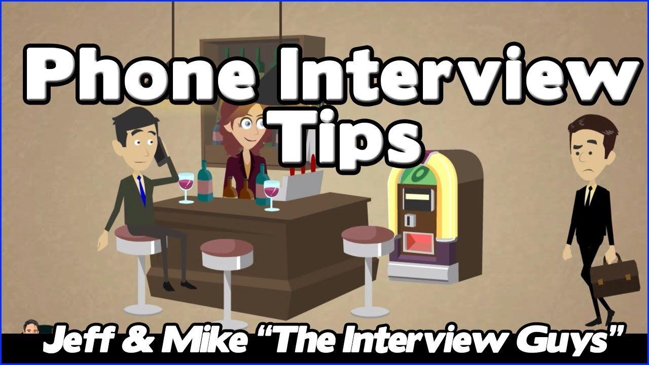 Must Wath Interview Process Job Questions Telephone Phone Interviews Video