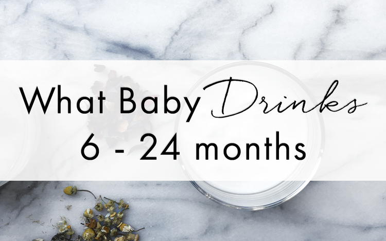 WHAT BABY DRINKS 6 24 MONTHS Baby first foods, Baby