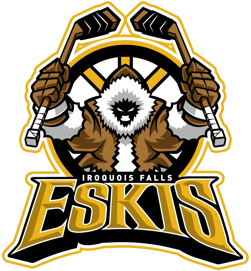 Iroquois Falls Eskis Sports Logo Iroquois Falls Logo Design