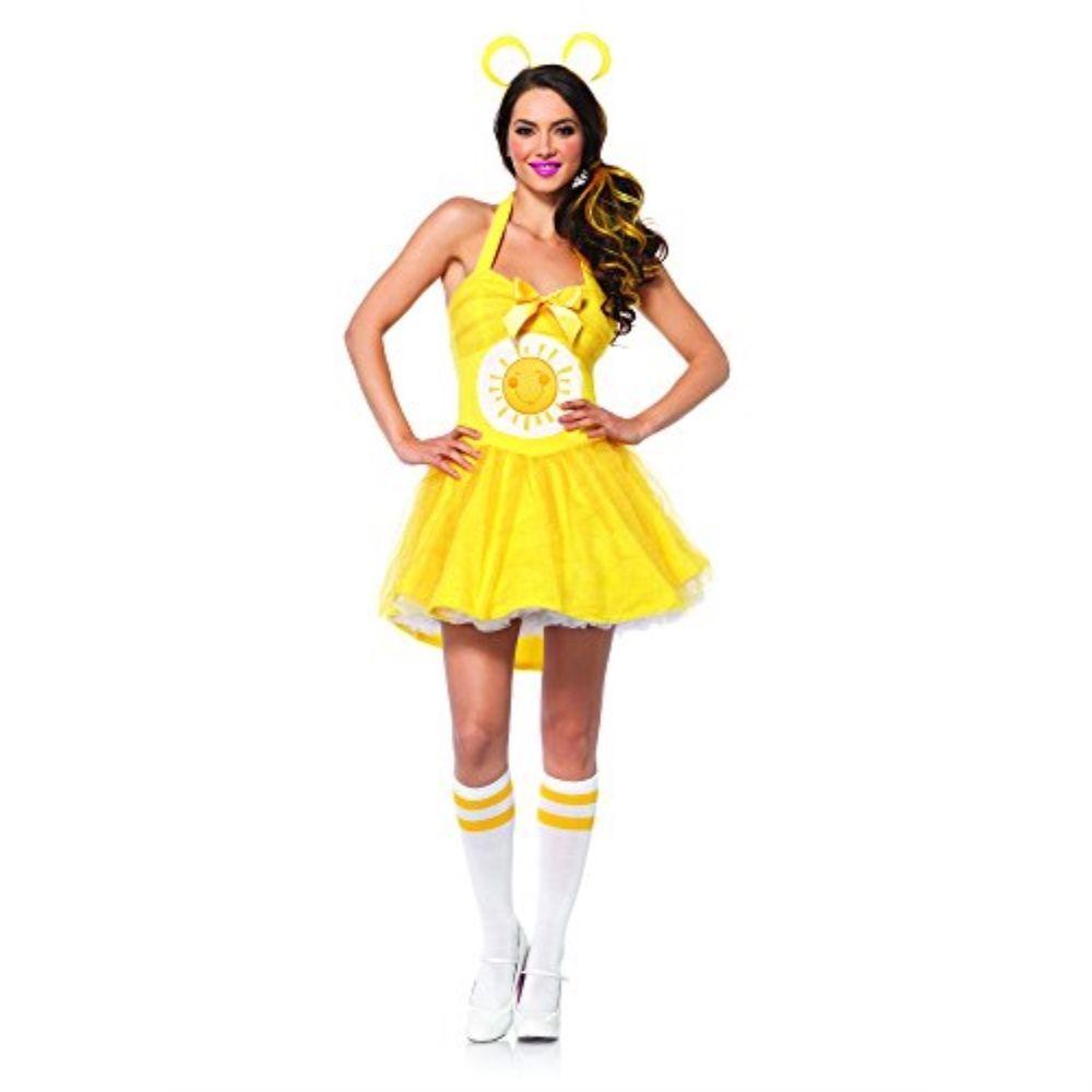 eBay #Sponsored Leg Avenue Women's Care Bears 2 Piece Funshine Bear Costume Yellow Small/Medi #carebearcostume