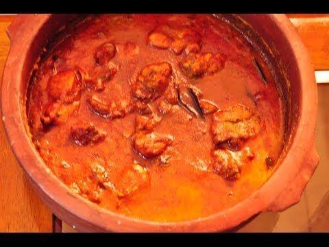 Spicy Hot Chicken Curry in ClayPot - YouTube