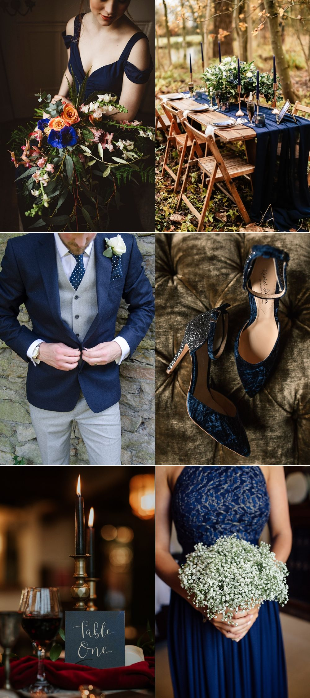 Classic Blue Wedding Ideas Pantone 2020 Colour of the Year