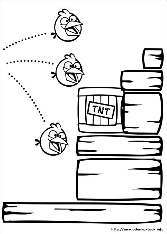 Angry Birds Coloring Picture Bird Coloring Pages Angry Birds Coloring Pages For Kids