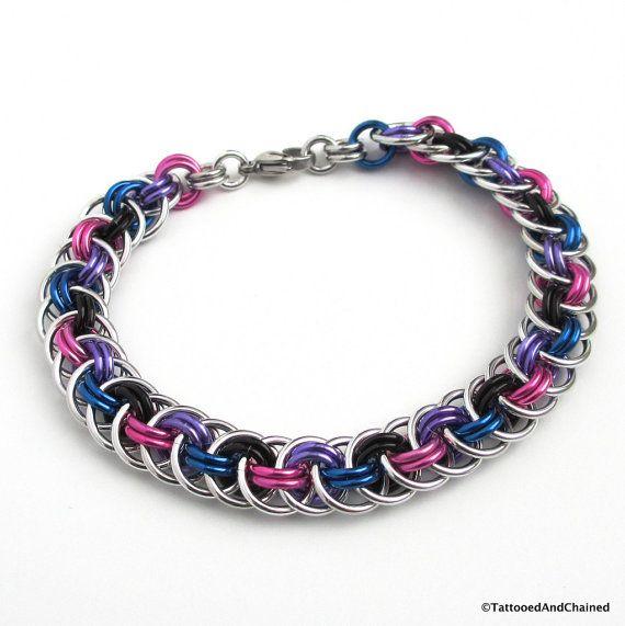 LGBT Pride Hexagon Bracelet