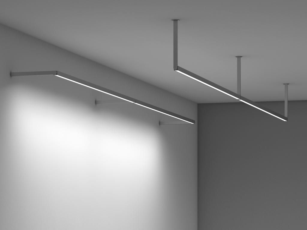 Boxrail Ceiling Wall Arm 107 Vode Lighting