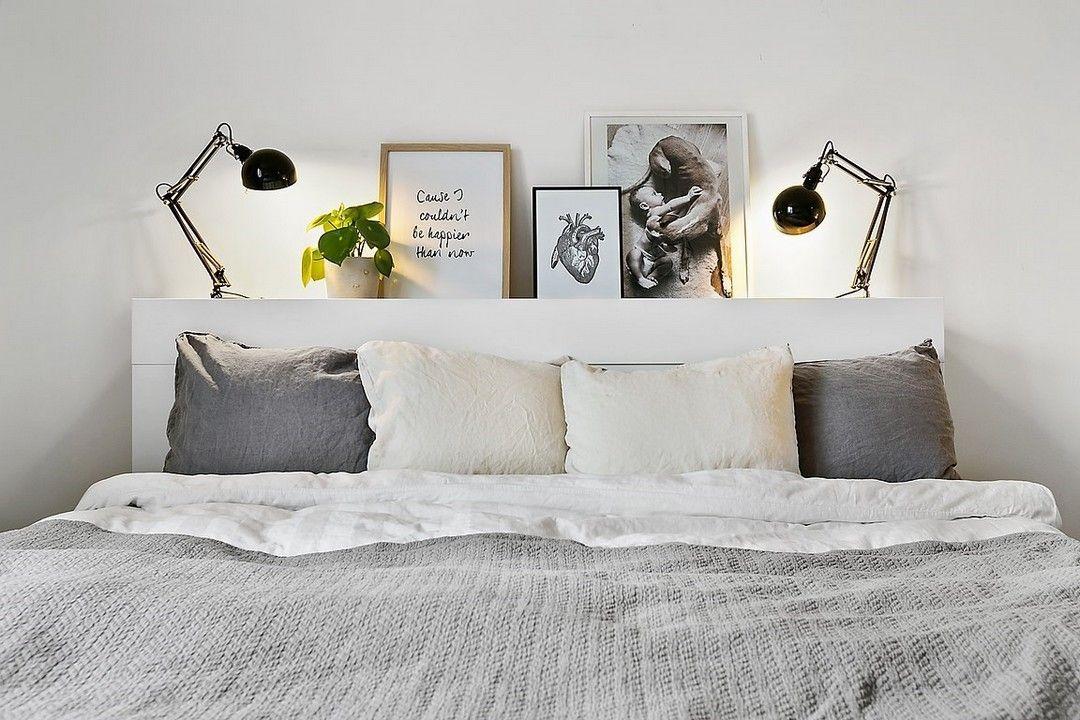 Avec du blanc et gris dream home en 2019 chambre confortable photos chambre et deco chambre - Chambre parentale grise ...