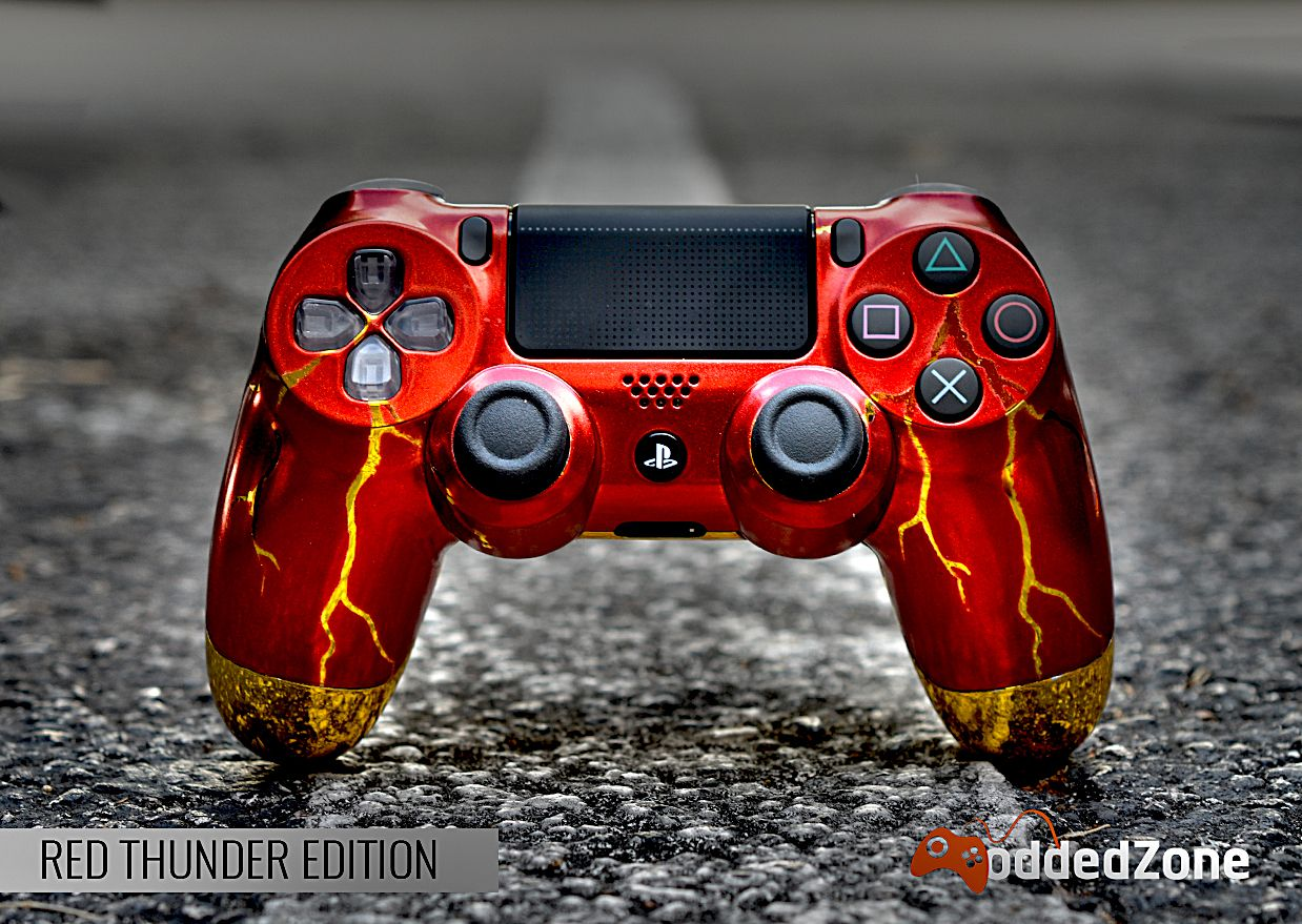 Moddedzone Custom Modded Controllers For Xbox One Xbox One Elite Ps4 And Nintedo Switch Moddedzone Ps4 Controller Gamer Setup Playstation Controller