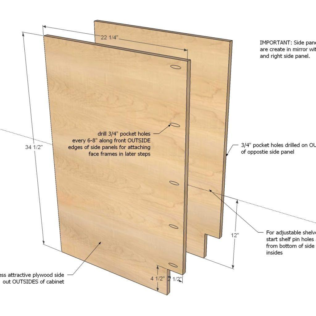 Plans For Base Kitchen Cabinets   Kitchen cabinet plans ...