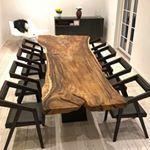 #Repost @formelwood with @repostapp ・・・ Dette smukke og unikke Suar Plankebord samt 8 Palisander stole betrukket med Italiensk anilinlæder, blev idag leveret hos en glad kunde i Hillerød Glædelig lille juleaften Mere information på info@formelwood.com #formelwood#uniqueroom#woodworking#suarwood#plankebord#vakrehjemoginterior#interior4all#nordicliving#danskdesign#bobedre#homedetails#boligmagasinet#nordicliving#nordiskehjem#boligliv#sonokeling#woodchair#