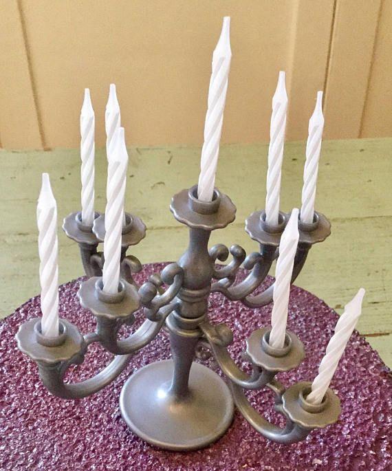 Cake Candelabra Candle Holder Birthday Topper
