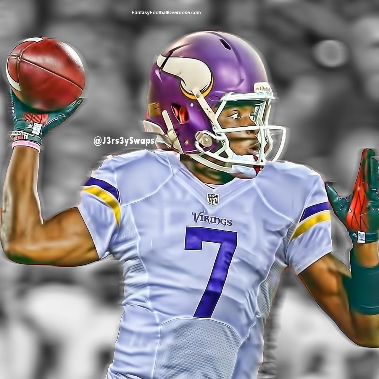 Wholesale NFL Jersey Swaps: Teddy Bridgewater with the Minnesota Vikings  hot sale