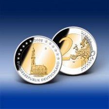 2 Euro Gedenkmünze Deutschland -  Hamburger Michel 2008