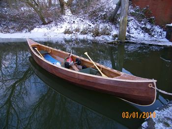 Open Canoes 15' to 17'