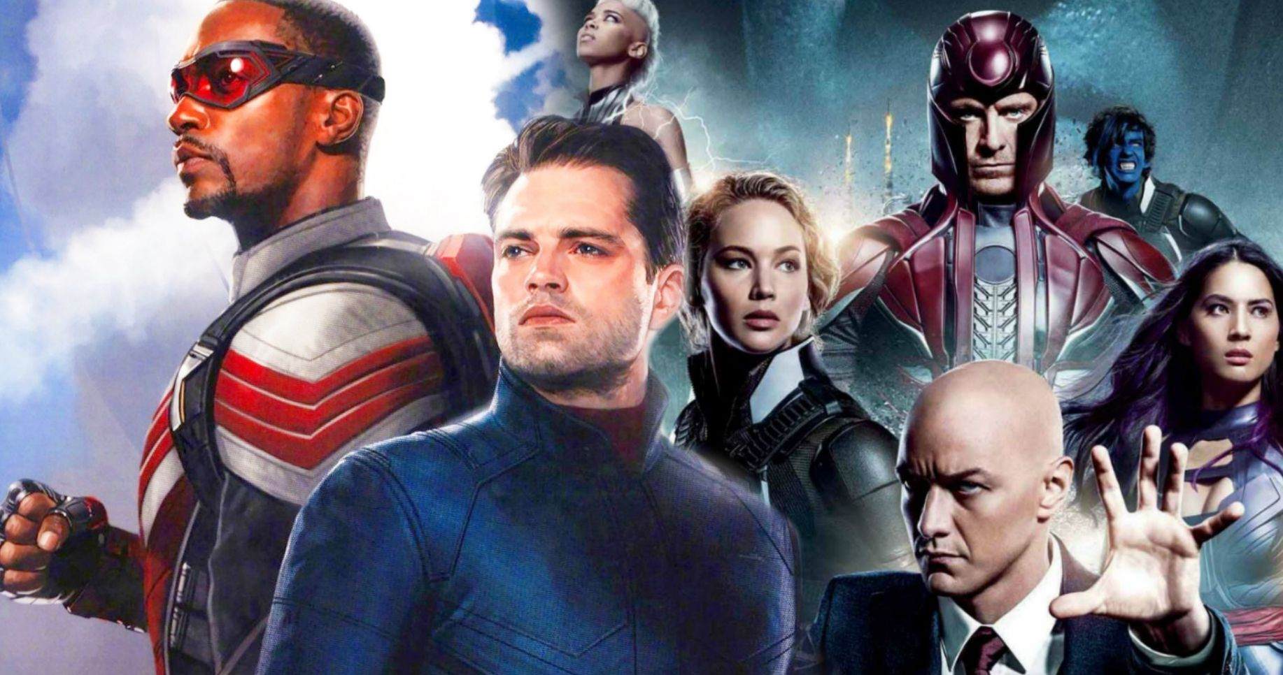 The Falcon And The Winter Soldier Set Photos Tease X Men Connection On Disney Marvel Studios Is Currently Shoot Winter Soldier New Disney Shows Disney Plus