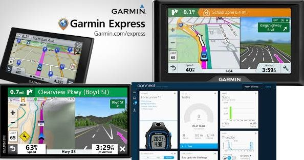 Garmin Express is a very helpful application to download