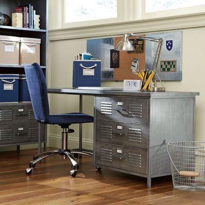 Locker Furniture Bedroom Desk Kids House