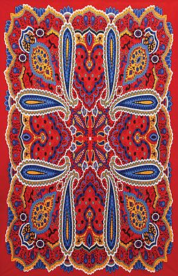 80 S Hippie Paisley Tapestry Twin Xl Bed Sheet 60x90 Dorm