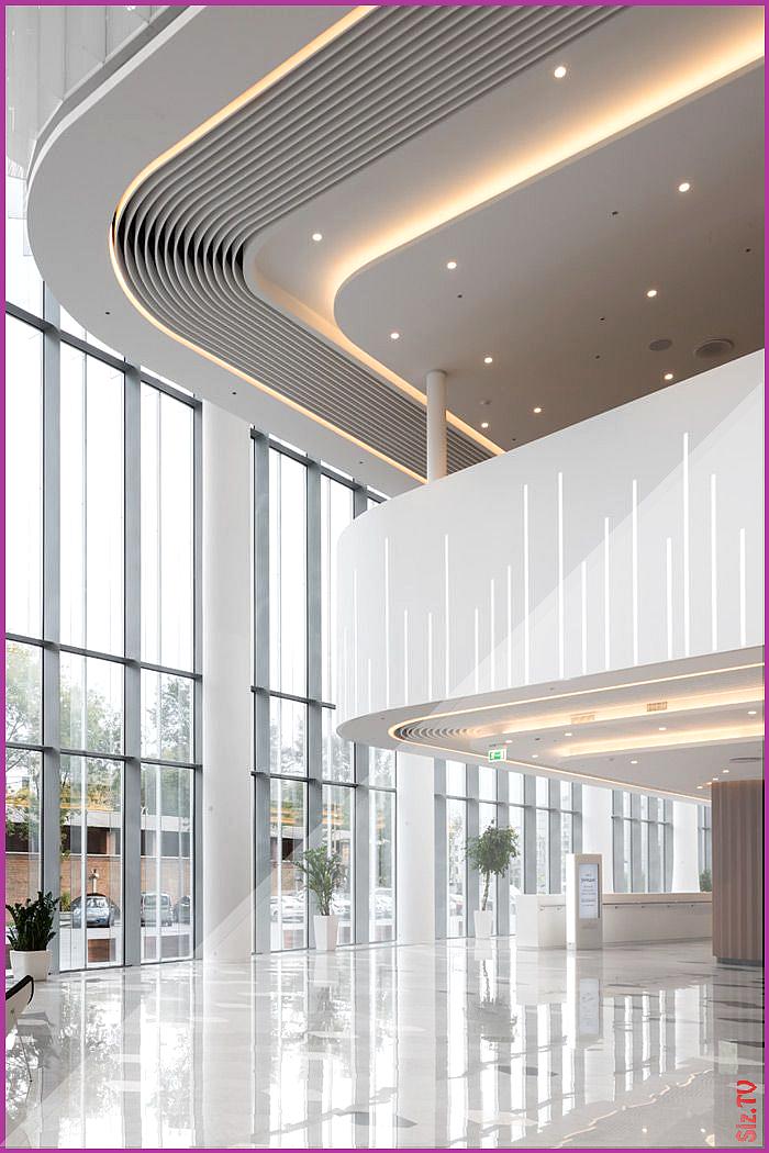Zaryadye Concert Hall Brings Inspirational Architecture To Moscow With Hi Macs Zaryadye Concert Hall Bri Hotel Lobby Design Lobby Interior Design Lobby Design