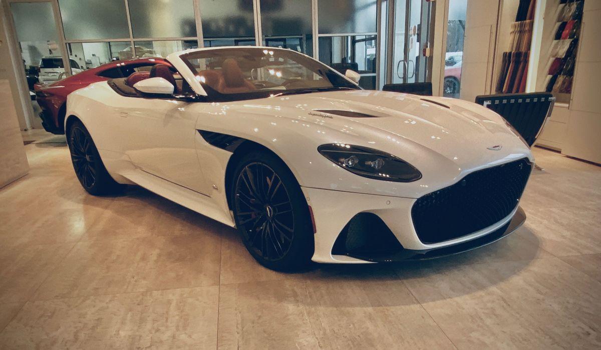 2020 Aston Martin Dbs Superleggera Volante Convertible Aston Martin Convertible Superleggera Aston Martin